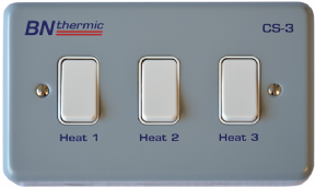 BN Thermic CS-3 Halogen Heater Control Switch - 3 Lamps